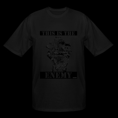 This is the Enemy - Men's Tall T-Shirt