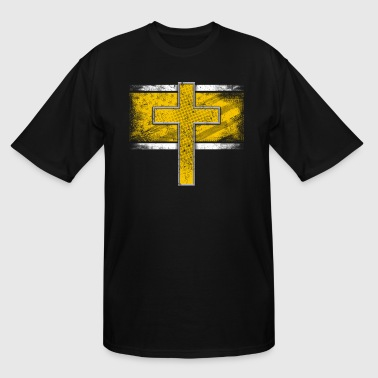 Police Dispatcher Thin Gold Line Dispatcher Police Dispatch - Men's Tall T-Shirt