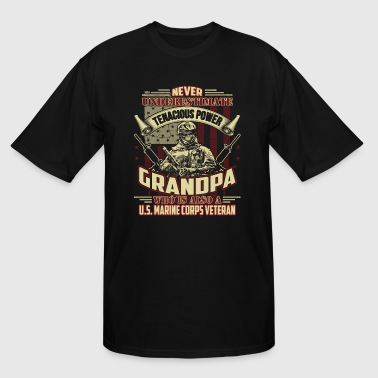 Veteran Grandpa US Veteran Shirt - Men's Tall T-Shirt