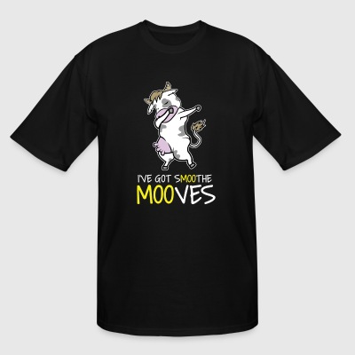 Cow dabbing tshirt - Men's Tall T-Shirt