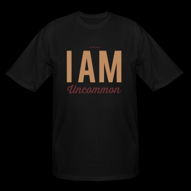 I Am Uncommon - Men's Tall T-Shirt