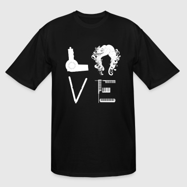 Hairstylist Lover - Men's Tall T-Shirt