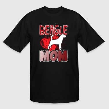 BEAGLE MOM TEE SHIRT - Men's Tall T-Shirt