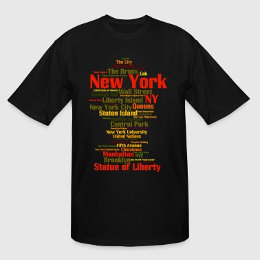 New York City (NY, NYC) - Men's Tall T-Shirt