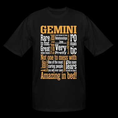 Gemini Amazing In Bed - Men's Tall T-Shirt