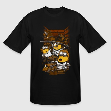 Minion Busted - Men's Tall T-Shirt