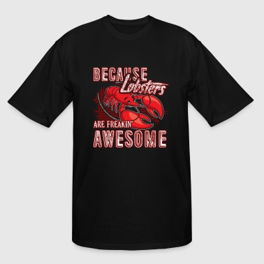 Lobsters Lovers Shirt - Men's Tall T-Shirt