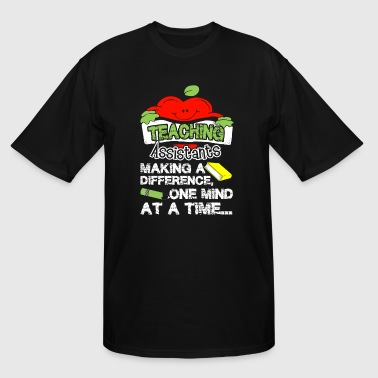TEACHING ASSISTANT SHIRT - Men's Tall T-Shirt