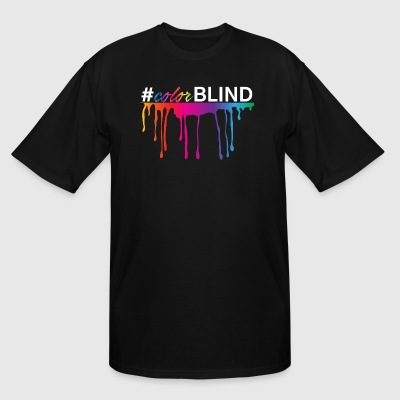 #colorBLIND - Men's Tall T-Shirt