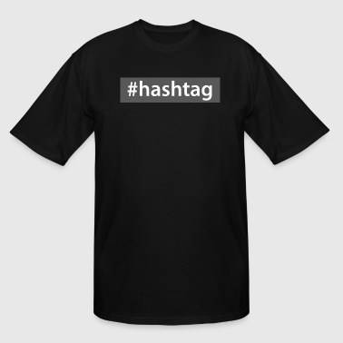 hashtag - Men's Tall T-Shirt