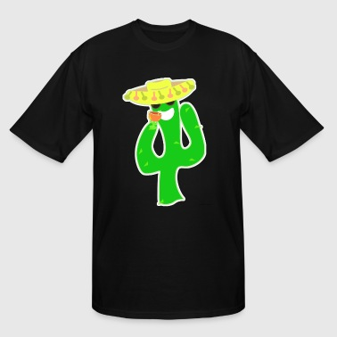 Party on Party Cactus - Men's Tall T-Shirt