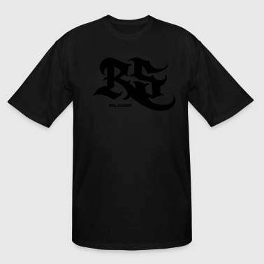 REAL SOLDIERS LOGO - Men's Tall T-Shirt