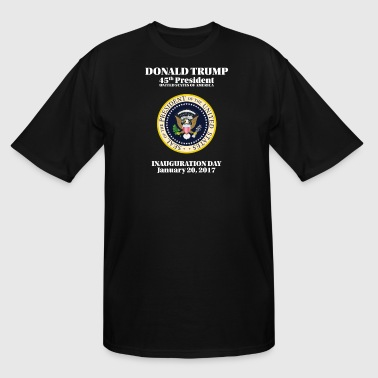 President Donald J. Trump Inauguration Day 2017 - Men's Tall T-Shirt