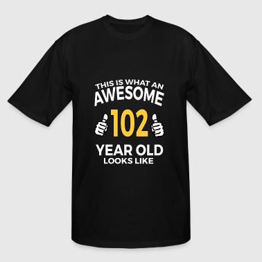 102 Year Old Birthday Gifts T Shirt for Senior Man - Men's Tall T-Shirt