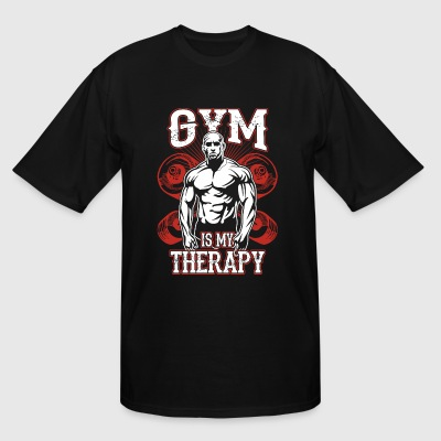 Gym Is My Therapy - Men's Tall T-Shirt
