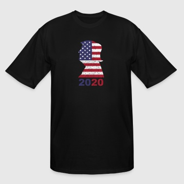 Donald Trump 2020 T-Shirt Trump 2020 Campaign - Men's Tall T-Shirt