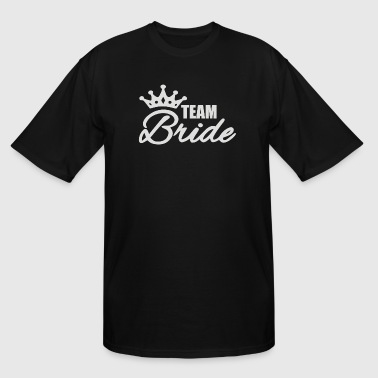 Team Bride - Men's Tall T-Shirt