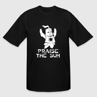 PRAISE THE SUN - Men's Tall T-Shirt