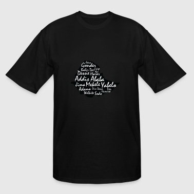 Ethiopia cities - Men's Tall T-Shirt
