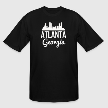 Atlanta Georgia Skyline - Men's Tall T-Shirt