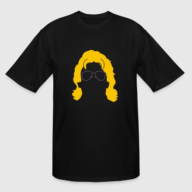 RIC FLAIR SILHOUETTE - Men's Tall T-Shirt