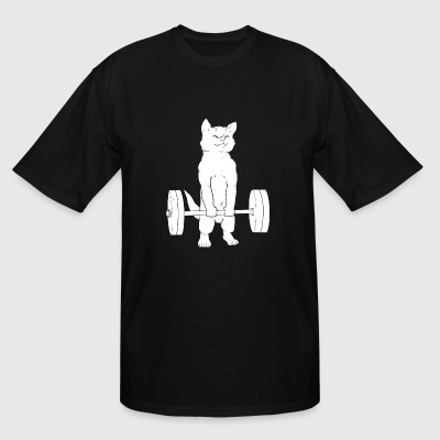 Powerlifting - Cat Deadlift Powerlifting - Men's Tall T-Shirt