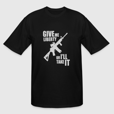 Navy - Give Me - Men's Tall T-Shirt
