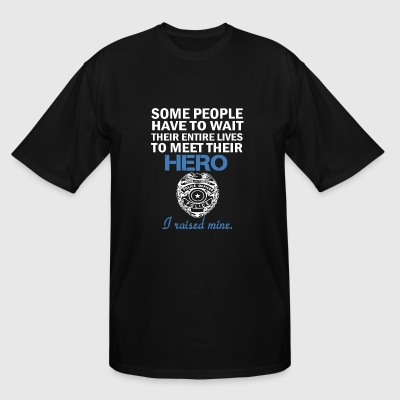 Police officer - Hero - Men's Tall T-Shirt