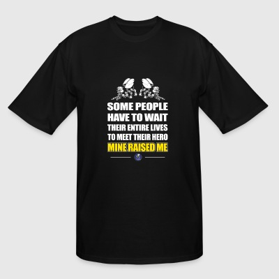 Seabee - some people have to wait their entire l - Men's Tall T-Shirt