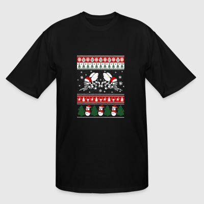Seabee - seabee merry xmas sweater - Men's Tall T-Shirt