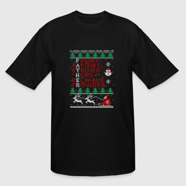 Father - Christmas sweater cool gift for fathers - Men's Tall T-Shirt