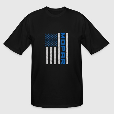 Mopar - mopar flag T shirt - Men's Tall T-Shirt