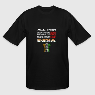 Come from India - All men are created equal - Men's Tall T-Shirt