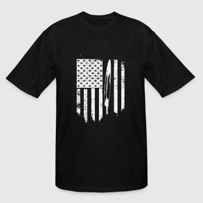 Native american - Native American Veteran s for - Men's Tall T-Shirt