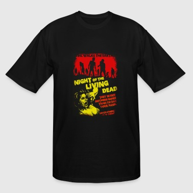 Night of the living dead - Evil walks the earth - Men's Tall T-Shirt