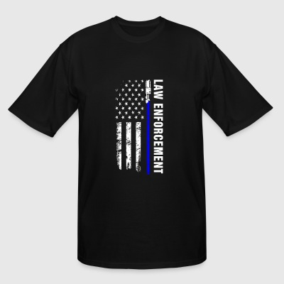 The law enforcement t-shirt for american - Men's Tall T-Shirt