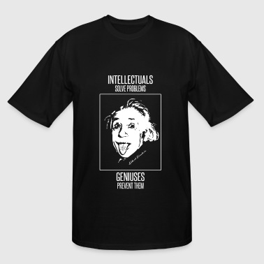 Einstein - Einstein -- Intellectuals Solve Probl - Men's Tall T-Shirt