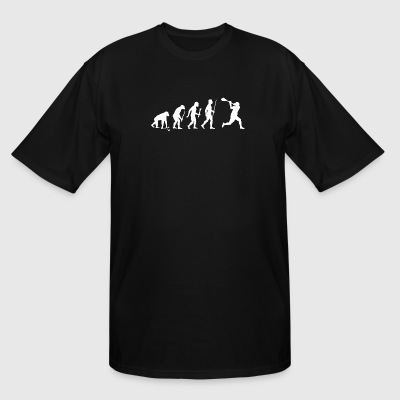 Lacrosse - Evolution of Man and Lacrosse Funny S - Men's Tall T-Shirt