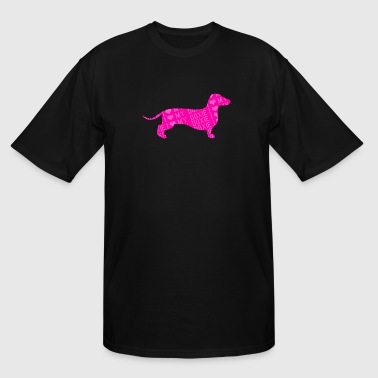 Doxie - i love my doxie - Men's Tall T-Shirt