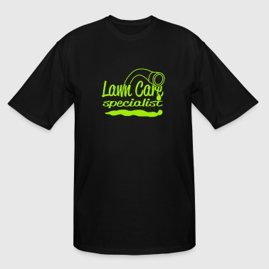 Lawn care - LAWN CARE SPECIALIST - Men's Tall T-Shirt