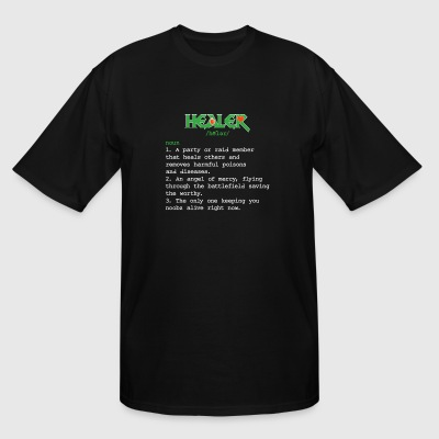 Healer - Healer Definition - Healer Meaning - Fu - Men's Tall T-Shirt