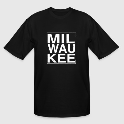 Wisconsin - Cool Distressed Milwaukee Wisconsin - Men's Tall T-Shirt