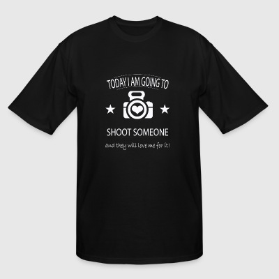 Photographer - Photographer - Today I'm going to - Men's Tall T-Shirt