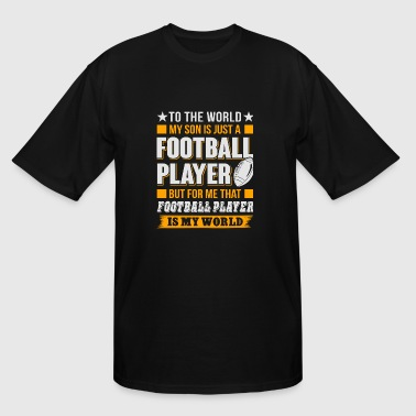 Football - Football Player T Shirt - Men's Tall T-Shirt