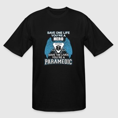 Paramedic - Paramedic is a Hero - Men's Tall T-Shirt