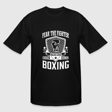 Boxing - Boxing: Fear the fighter - Men's Tall T-Shirt