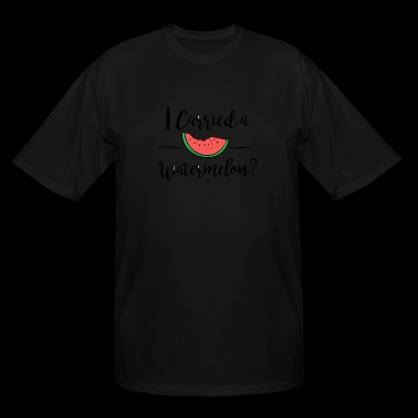 Watermelon - I carried a watermelon dirty dancin - Men's Tall T-Shirt