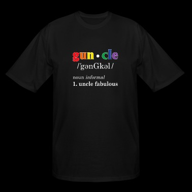 Gay uncle - Gay Uncle Definition Shirt Gay Uncle - Men's Tall T-Shirt