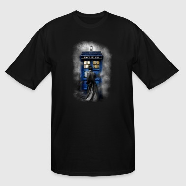 Time traveller lost in the mist - Men's Tall T-Shirt