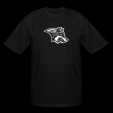 wolf logo - Men's Tall T-Shirt